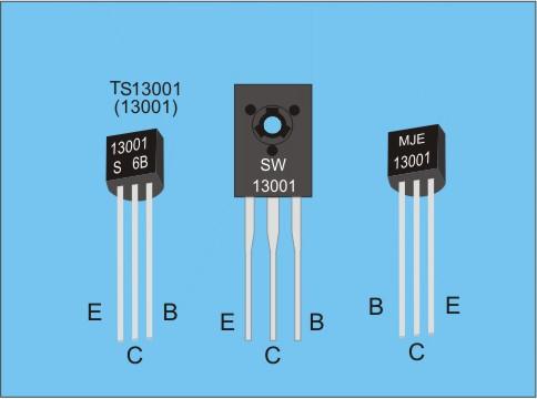 Транзисторы MJE13001(13001)и