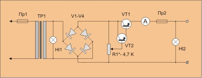 транзистора П210 невысок,