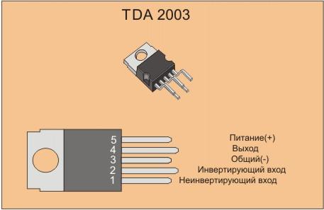Усилитель на TDA 2003 - это