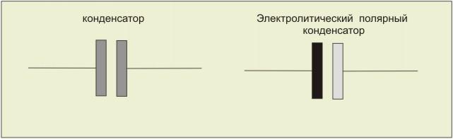 схеме конденсаторы