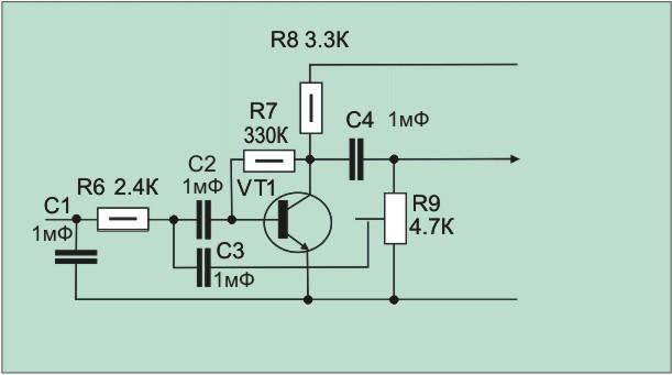 Номиналы конденсаторов С5 и С7