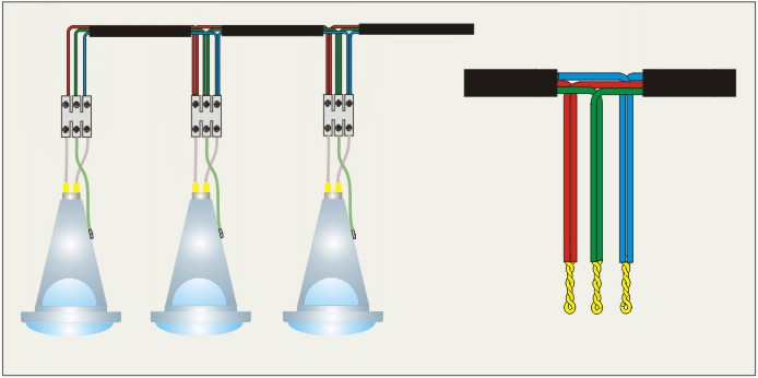 Подключение светодиодных точечных светильников своими руками 18