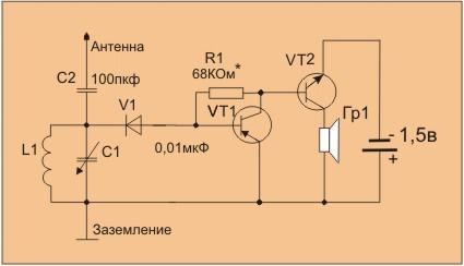 Как сделать укв регенератор на транзисторах мп42 фото 120