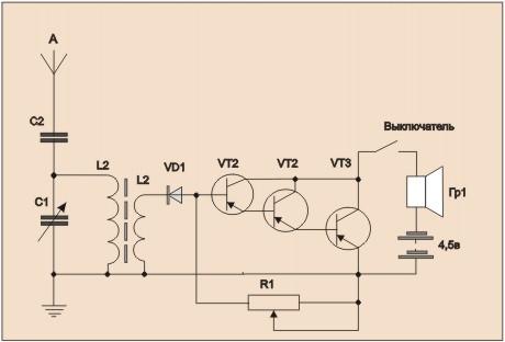Как сделать укв регенератор на транзисторах мп42 фото 654