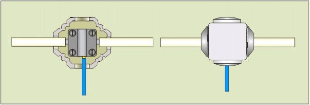 Как сделать переход с алюминия на медь