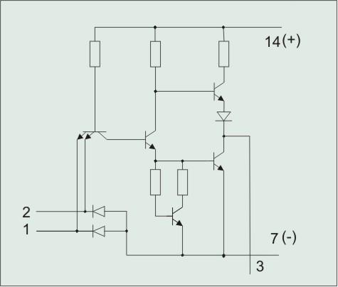 Схема отдельного элемента