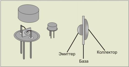 транзистор содержит в себе