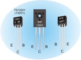 mje13001 and 13001 transistors pinout datasheet. Black Bedroom Furniture Sets. Home Design Ideas
